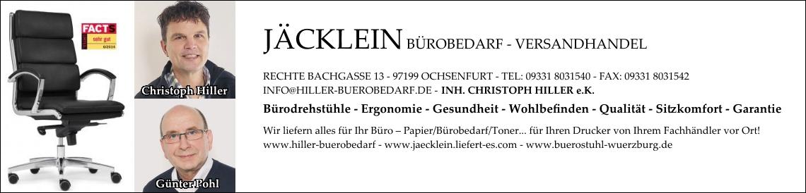 Bürostuhl-Würzburg - zu unseren Bürostühlen